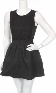 Czarna sukienka Lea.r w stylu casual mini