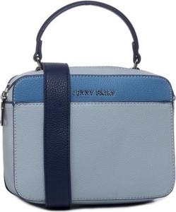 Niebieska torebka Jenny Fairy na ramię matowa w stylu casual