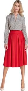 Czerwona spódnica Colett midi