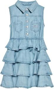Sukienka dziewczęca Guess z jeansu