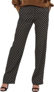 Czarne spodnie Michael Kors w stylu casual