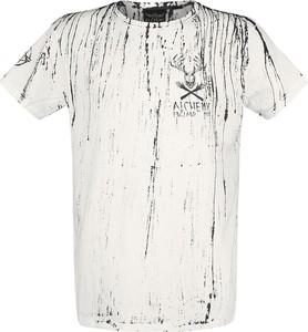 T-shirt Emp z krótkim rękawem z bawełny