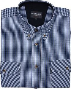Niebieska koszula Dockland w stylu casual