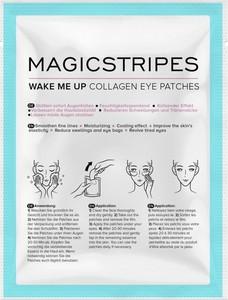 Magicstripes, Wake Me Up Collagen Eye Patches, chłodzące płatki kolagenowe pod oczy, 1 para