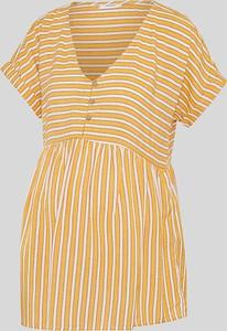 YESSICA C&A Bluzka ciążowa-w prążki, Pomarańczowy, Rozmiar: XS