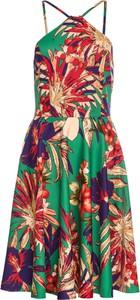 Sukienka bonprix BODYFLIRT boutique w stylu boho bez rękawów