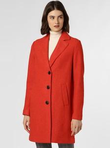 Czerwony płaszcz comma, w stylu casual