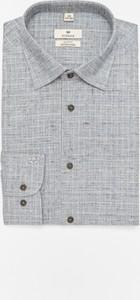 Koszula Recman z kołnierzykiem button down z długim rękawem