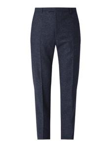 Granatowe spodnie Strellson z jedwabiu