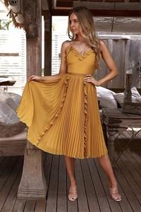 b9ad72182f Żółta sukienka Ivet.pl