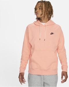 Różowa bluza Nike z plaru