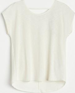 T-shirt Reserved w stylu casual z krótkim rękawem