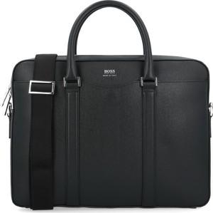 Czarna torba Boss ze skóry