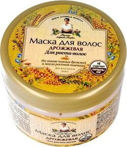 Receptury Babuszki Agafii maska do włosów drożdżowa pobudzająca wzrost 300 ml
