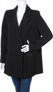 Czarny płaszcz Ikks