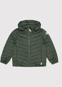 Zielona kurtka dziecięca Reima dla chłopców