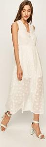 Sukienka Answear na ramiączkach z szyfonu w stylu casual