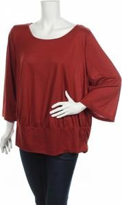 Bluzka ONLY Carmakoma w stylu casual z okrągłym dekoltem