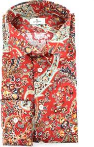 Czerwona koszula Etro w młodzieżowym stylu