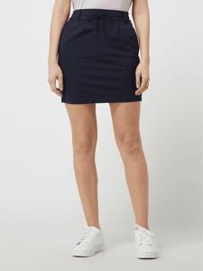 Niebieska spódnica Only mini z dżerseju