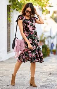 Sukienka Cellbes z dżerseju w stylu casual midi