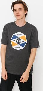 T-shirt Element z bawełny z krótkim rękawem w młodzieżowym stylu