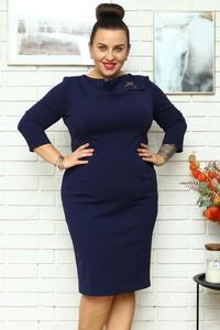 Niebieska sukienka KARKO