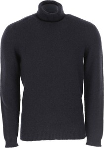 Granatowy sweter Roberto Collina