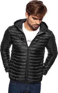 Czarna kurtka Wrangler w stylu casual
