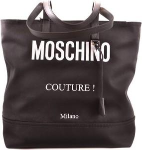 Czarna torebka Moschino