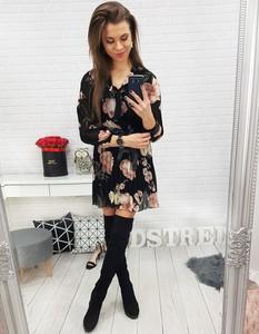 Sukienka Dstreet oversize z długim rękawem mini