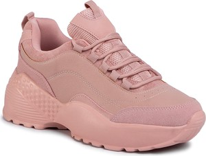 Sneakersy eobuwie.pl na platformie sznurowane