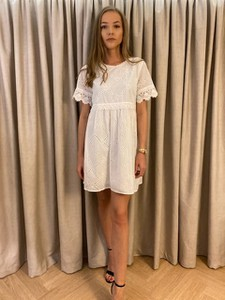 Sukienka Neli Fashion z krótkim rękawem z bawełny