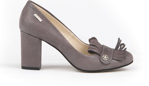Czółenka Zapato z okrągłym noskiem w stylu klasycznym na średnim obcasie
