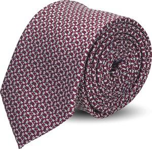Brązowy krawat recman