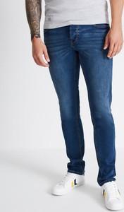 Niebieskie jeansy Diverse w stylu casual