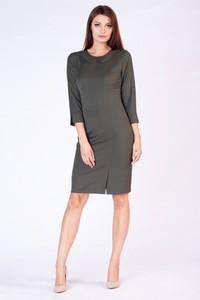 Zielona sukienka butik-choice.pl midi