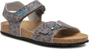 Buty dziecięce letnie Geox dla chłopców ze skóry