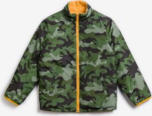 Zielona kurtka dziecięca Gap dla chłopców