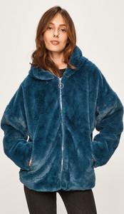 Niebieska kurtka Answear w młodzieżowym stylu krótka