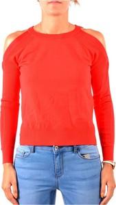 Czerwona bluzka Guess w stylu casual