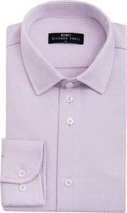 Fioletowa koszula giacomo conti