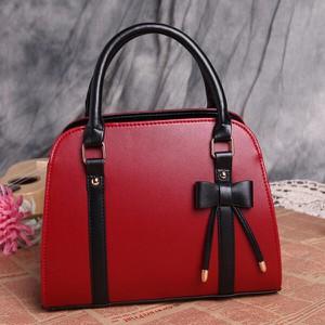 Czerwona torebka Sandbella do ręki średnia