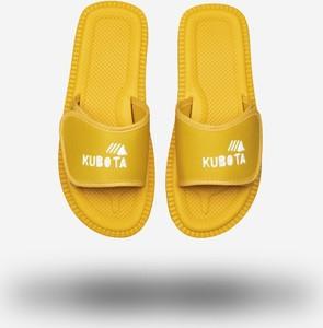 Żółte buty letnie męskie Kubota