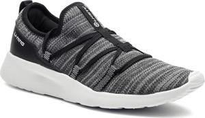 Czarne buty sportowe Li-Ning sznurowane ze skóry ekologicznej