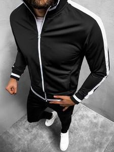 Czarna bluza Ozonee w stylu casual