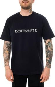 T-shirt Carhartt WIP z krótkim rękawem w młodzieżowym stylu