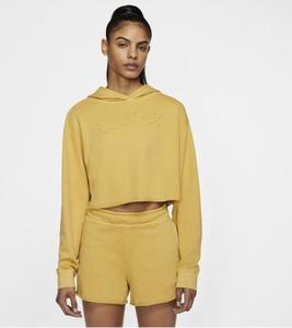 Żółta bluza Nike w sportowym stylu
