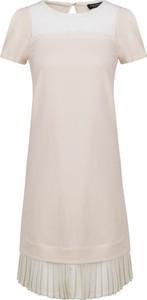 Sukienka Twinset z krótkim rękawem w stylu casual mini