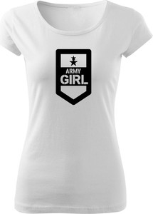 T-shirt Waragod z okrągłym dekoltem z krótkim rękawem w młodzieżowym stylu